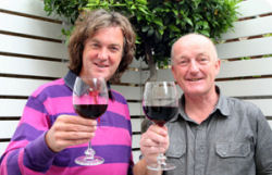 Oz Clarke and James May