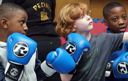 Kids at a boxing club - The World According to Kids