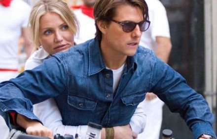 Cameron Diaz, Tom Cruise in Knight and Day